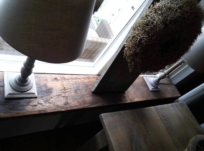 Houten vensterbanken | Bloem Gebruikte Bouwmaterialen